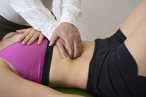 fisioterapia viscerale rho